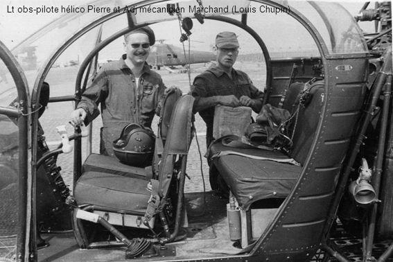 Lt obs-pilote hélico Pierre et Adj mécanicien Marchand (Louis Chupin)