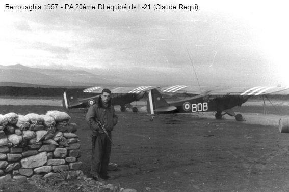 2ème PA 20ème DI - Lt Frey, x, Cne Nouan au cours dune représentation organisée par lAdj Ghio en 1961 (Charles Ghio)
