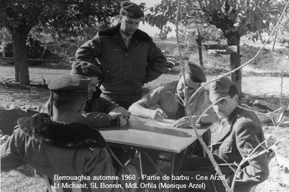 Les installations du PMAH 21ème DI à Batna en 1960 (Robert Cortès)