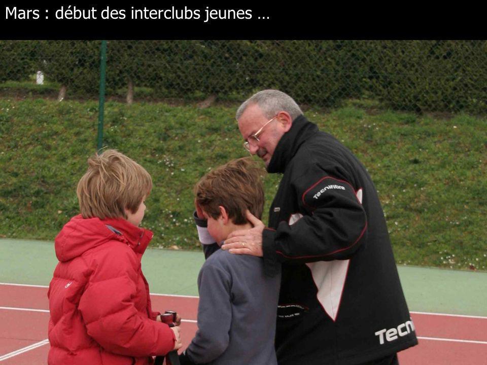 Février toujours : Anne, Valou, Jen et Magali gagnent le Challenge de doubles aux Loges