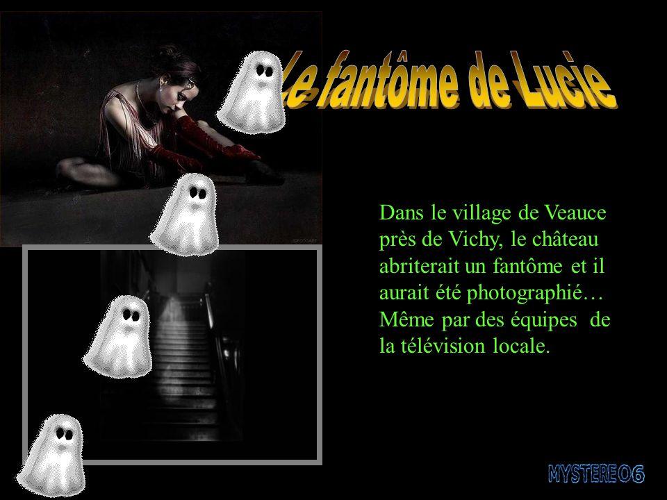 Dans le village de Veauce près de Vichy, le château abriterait un fantôme et il aurait été photographié… Même par des équipes de la télévision locale.