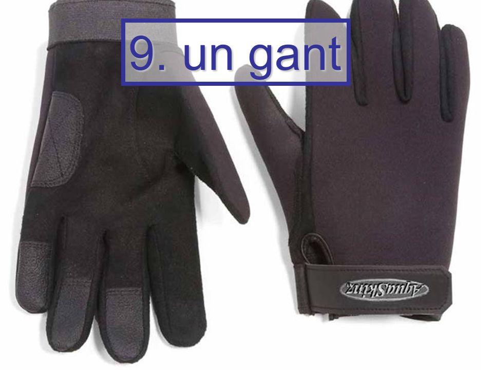 9. un gant