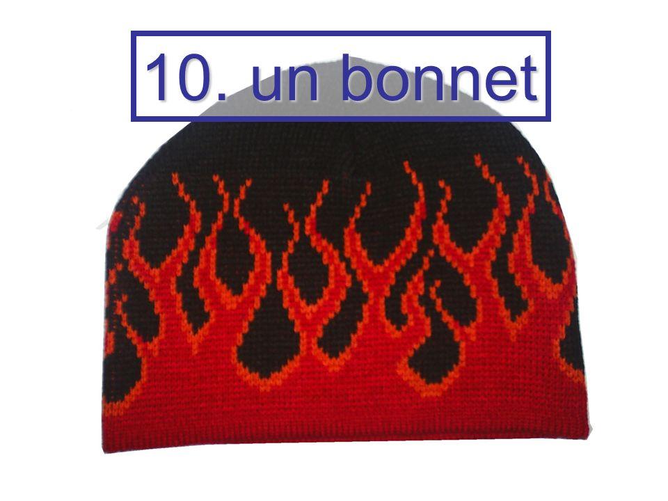 10. un bonnet