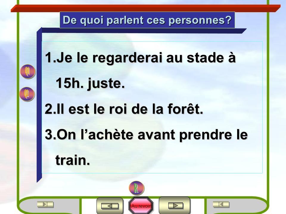 Au revoir En Français aussi 2e2e L évaluatio n L évaluatio n 13 Compréhensionproduction