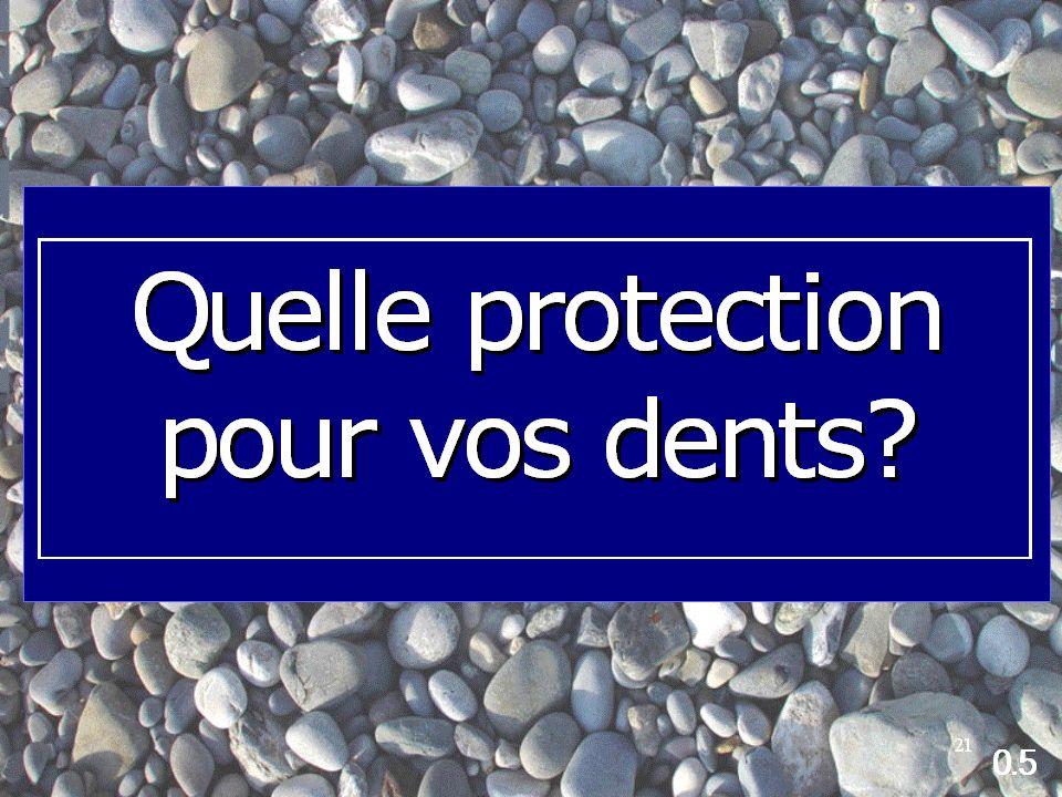 quelle protection souhaitez-vous pour vos dents?