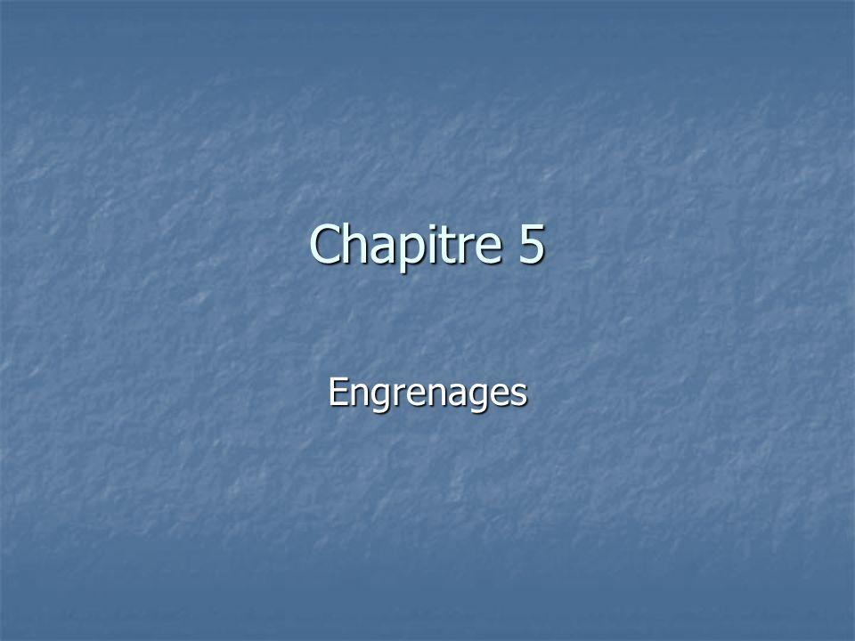 Engrenage droit Mouvement alternatif (rotation/translation): crémaillère Mouvement alternatif (rotation/translation): crémaillère