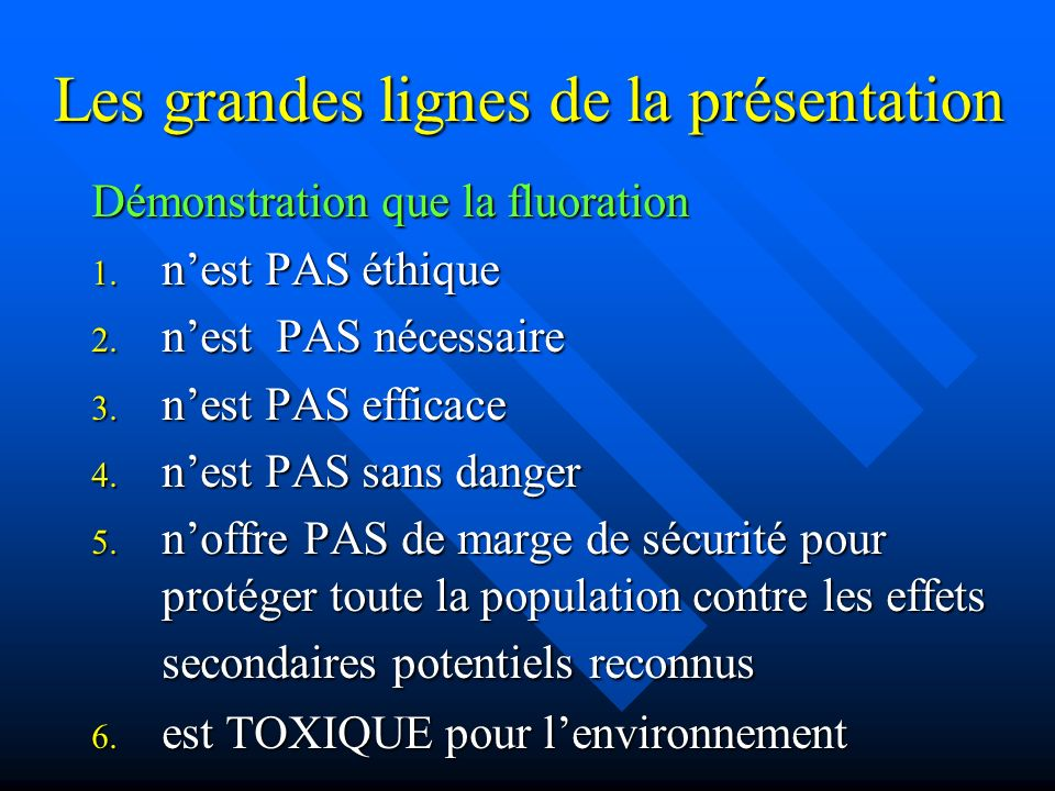 Ostéosarcome En 2005, le Environmental Working Group (EWG) demande une enquête sur le comportement du Dr Douglass par le National Institute of Health (NIH).