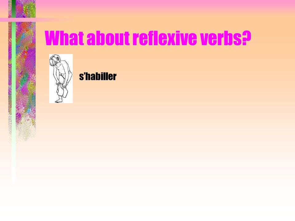 What about reflexive verbs shabiller