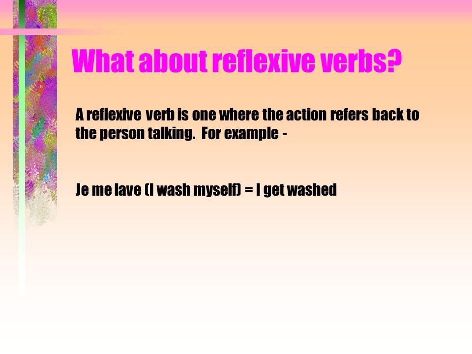 What about reflexive verbs? Je me réveille= je me suis réveillé(e)