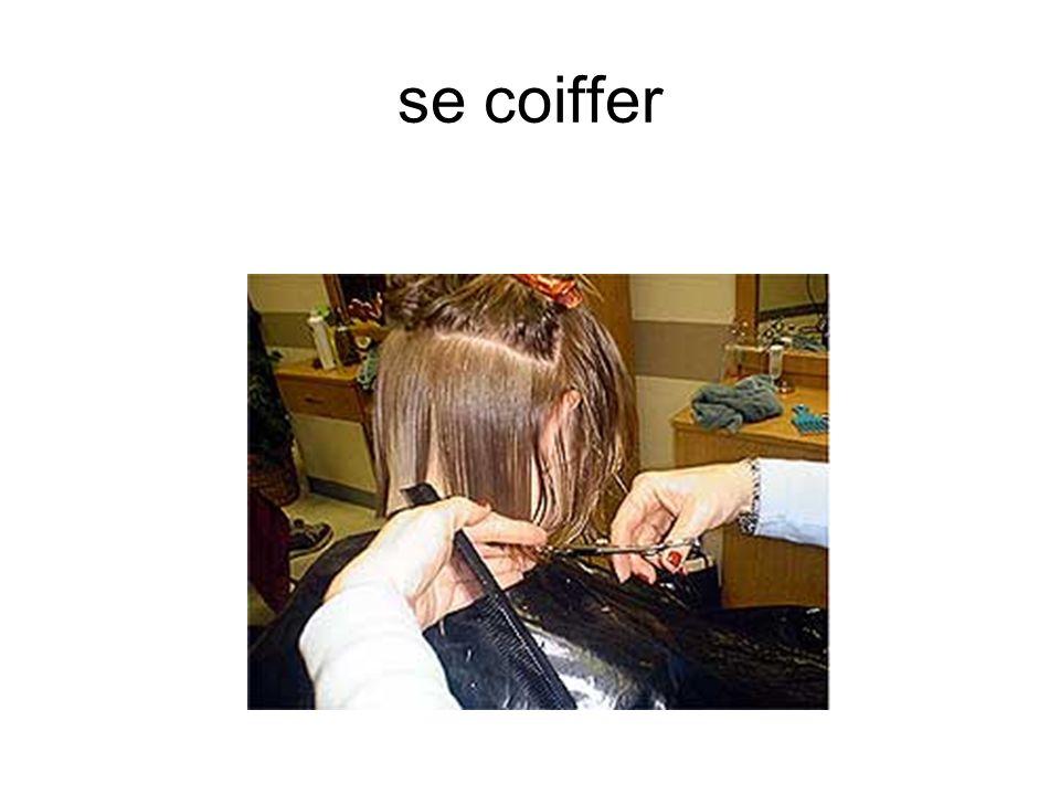 se coiffer