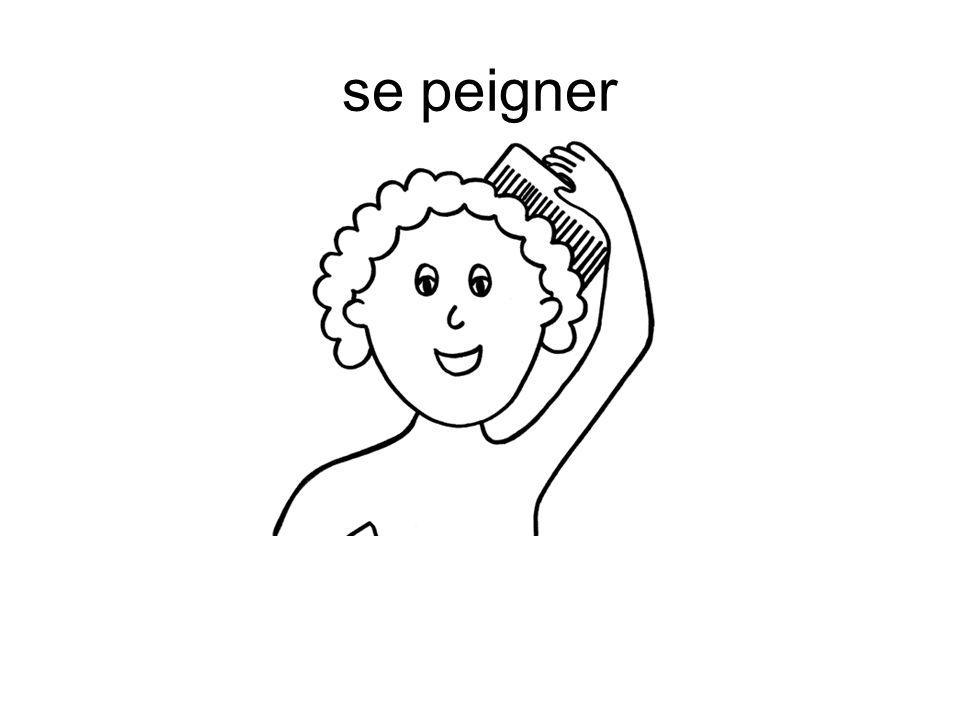 se peigner