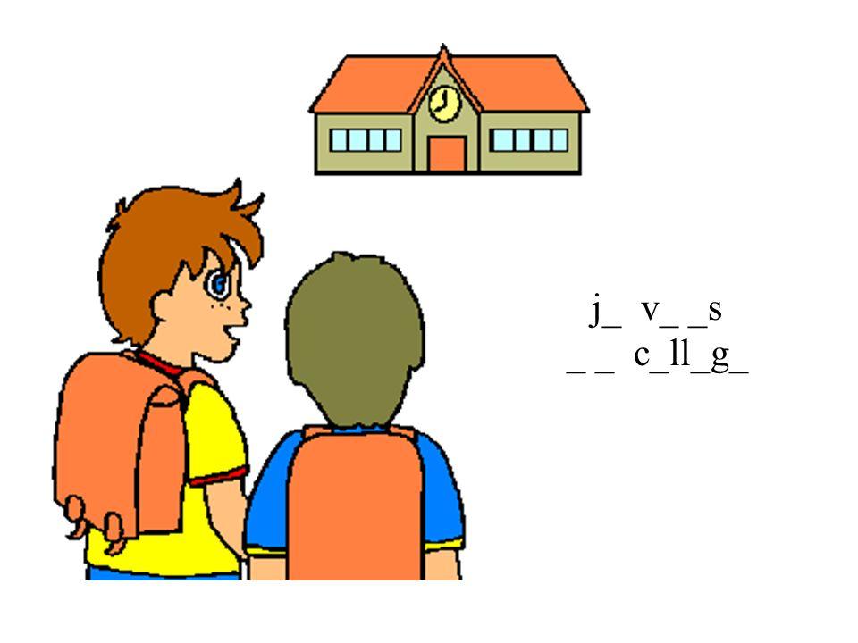 j_ v_ _s _ _ c_ll_g_