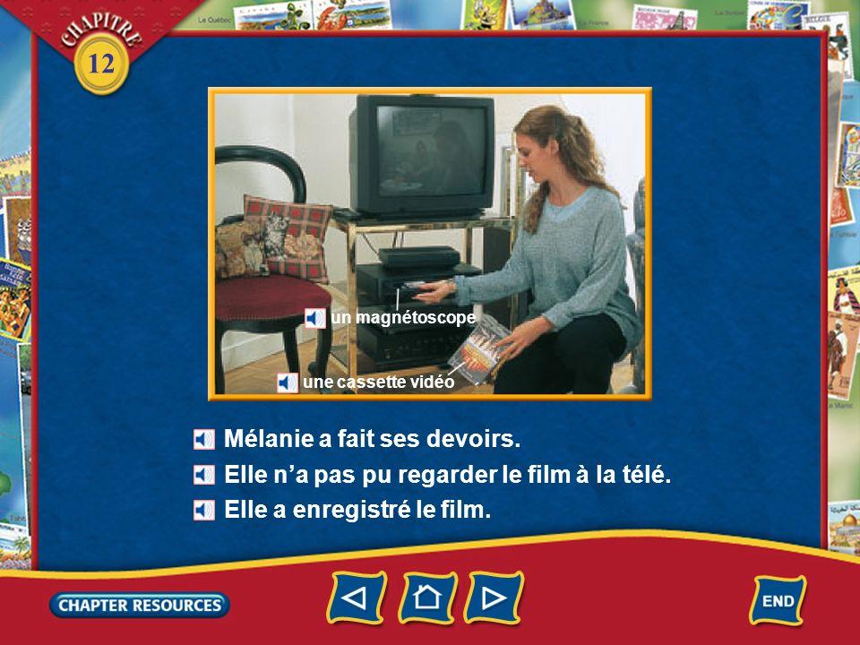 12 Après lémission M. Moulin a éteint la télé.