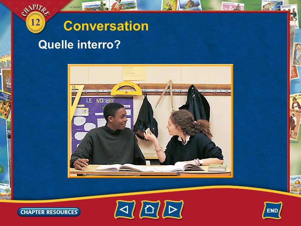 12 5. Pourquoi Vincent dit à Manu de faire attention? Answer: Il dit à Manu de faire attention parce que leau est peut-être un peu froide.