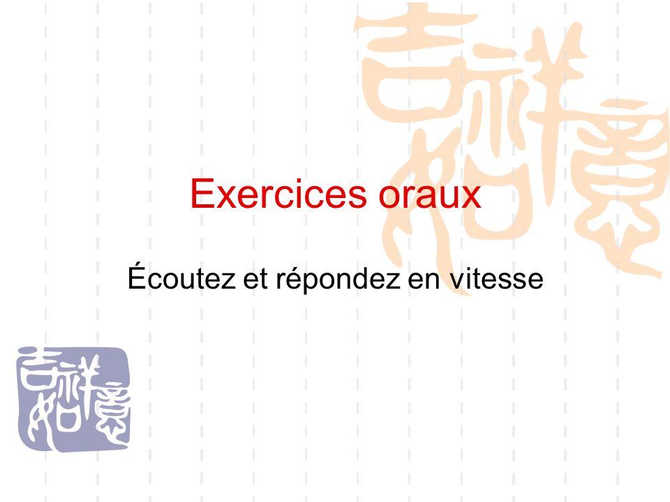 Activités orales Activité 1 Comment concevez-vous votre avenir dans dix ans.