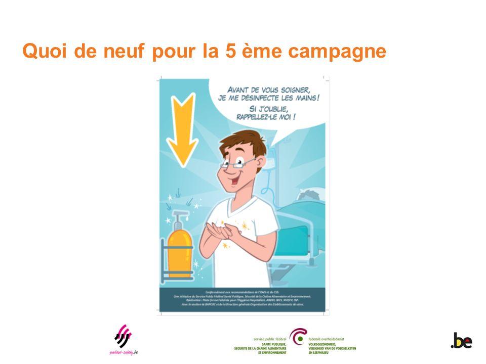 Quoi de neuf pour la 5 ème campagne