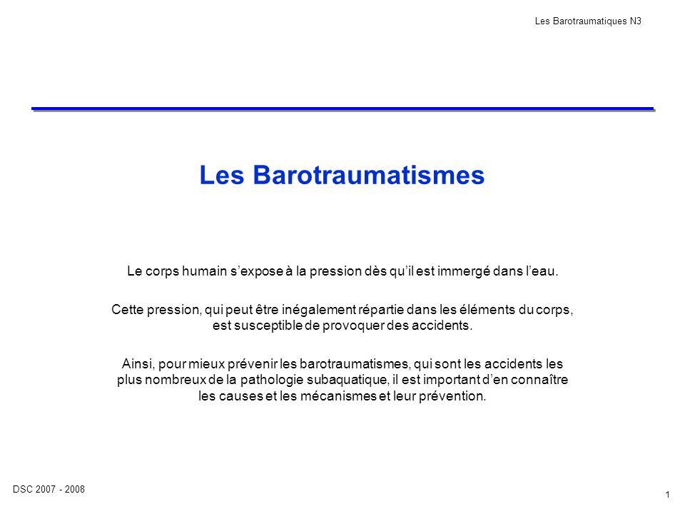 DSC 2007 - 2008 Les Barotraumatiques N3 22 5.