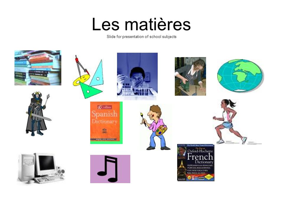 Une journée In this unit you will learn: to say what school subjects you do to say what you like and do not like and give a reason; how to describe wh