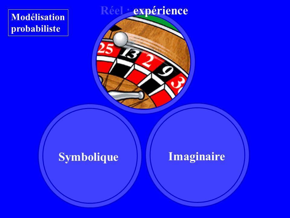Imaginaire Symbolique Réel : expérience Modélisation probabiliste