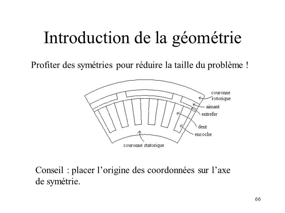 66 Profiter des symétries pour réduire la taille du problème .