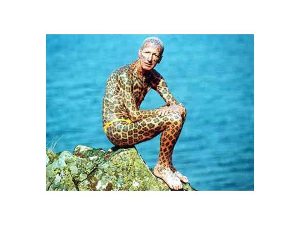 Tom Léopard – lhomme le plus tatoué du monde…