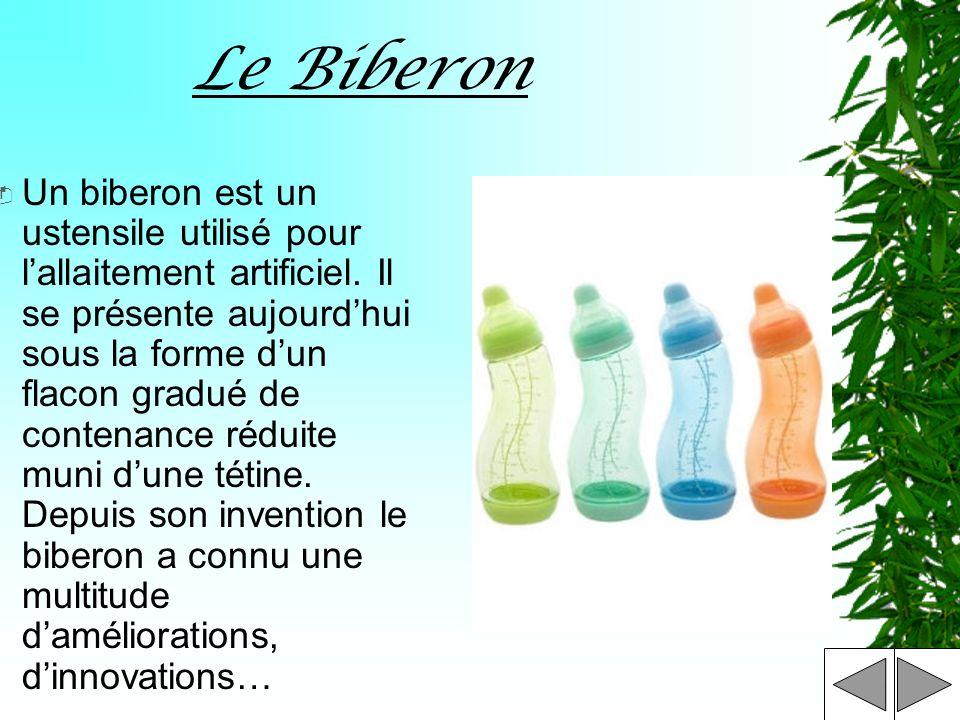 Le Biberon & La Tétine
