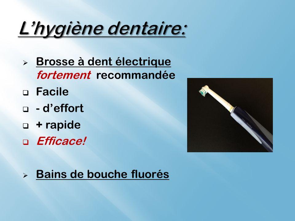 Brosse à dent électrique fortement recommandée Facile - deffort + rapide Efficace.