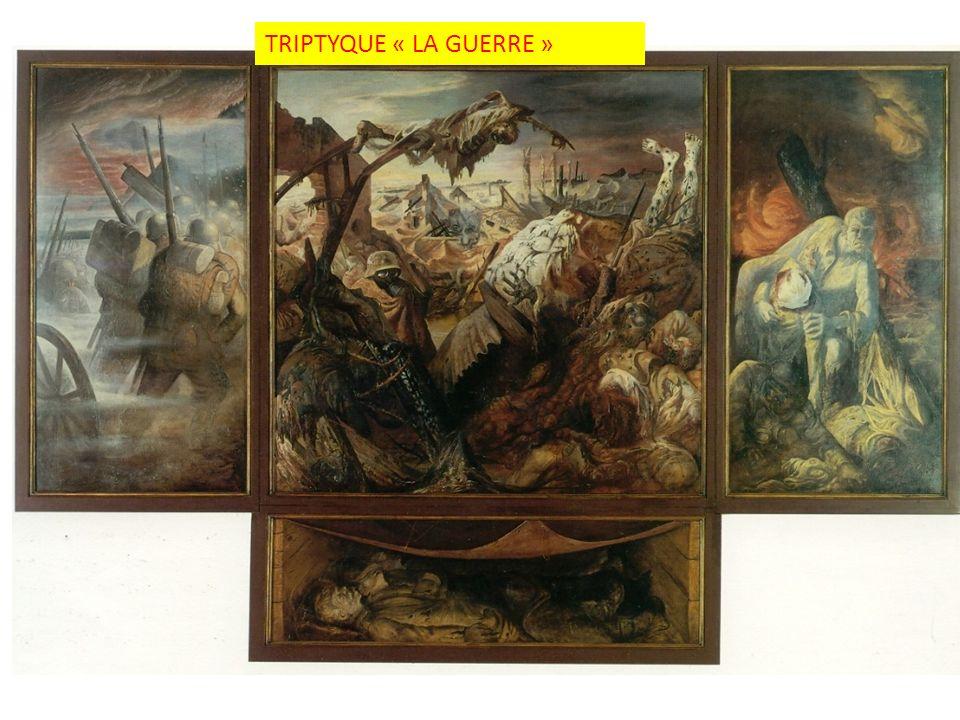 TRIPTYQUE « LA GUERRE »