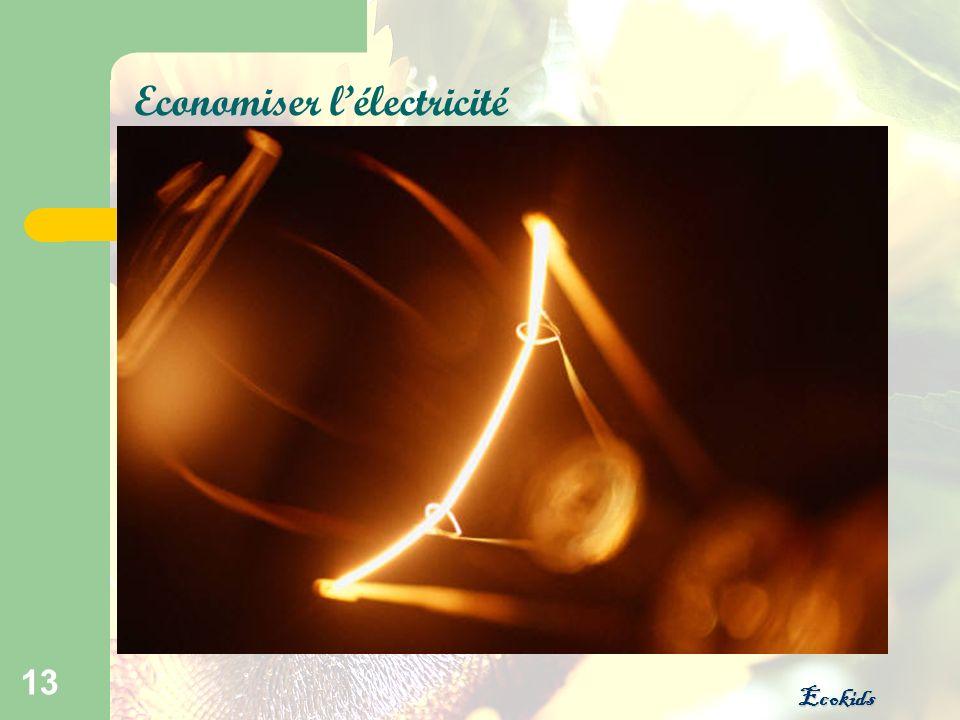 Ecokids 13 Economiser lélectricité