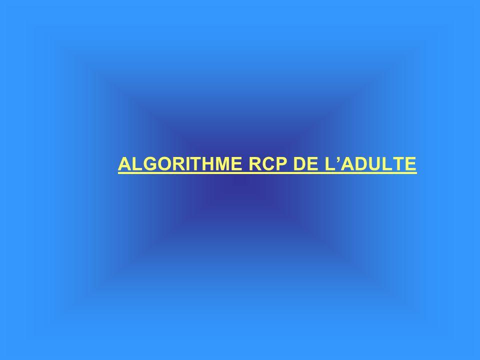 ALGORITHME RCP DE LADULTE