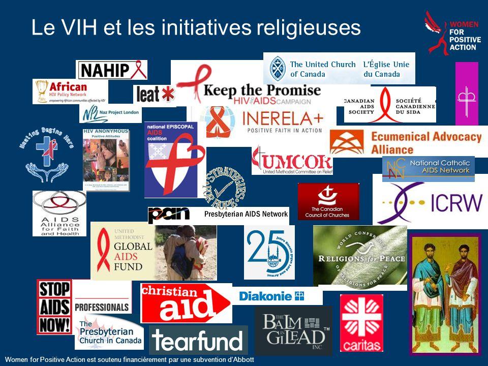 Le VIH et les initiatives religieuses Women for Positive Action est soutenu financièrement par une subvention dAbbott