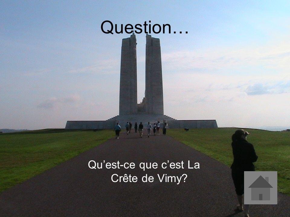 Réponse… Cette bataille est considérée comme le point tournant de la Première Guerre mondiale.