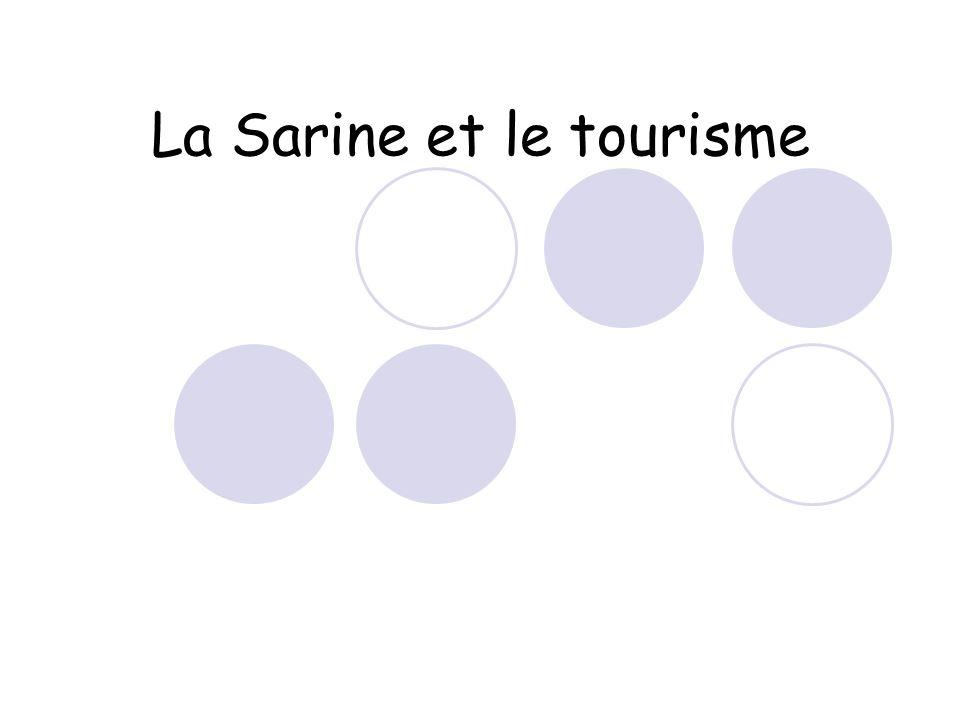 La Sarine et le tourisme