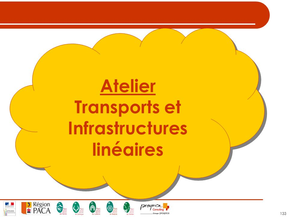 133 Atelier Transports et Infrastructures linéaires Atelier Transports et Infrastructures linéaires