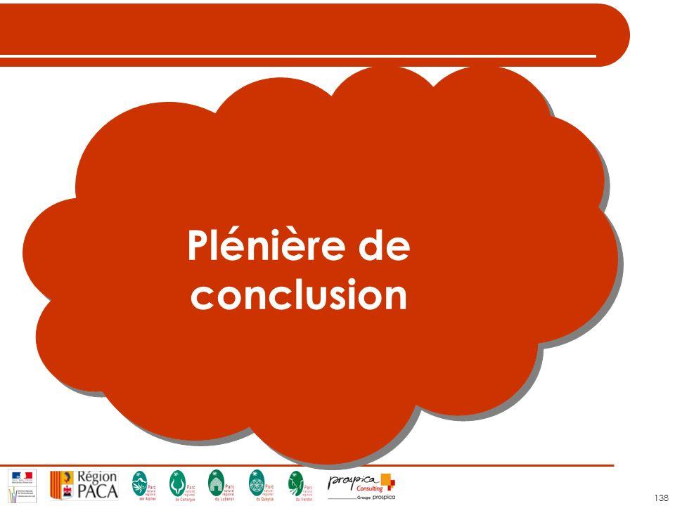 138 Plénière de conclusion