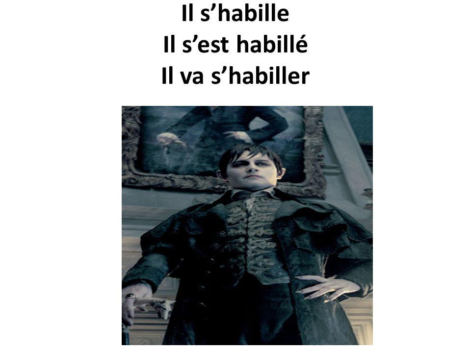Shabiller – to get dressed