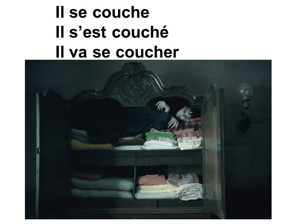se coucher – to go to bed