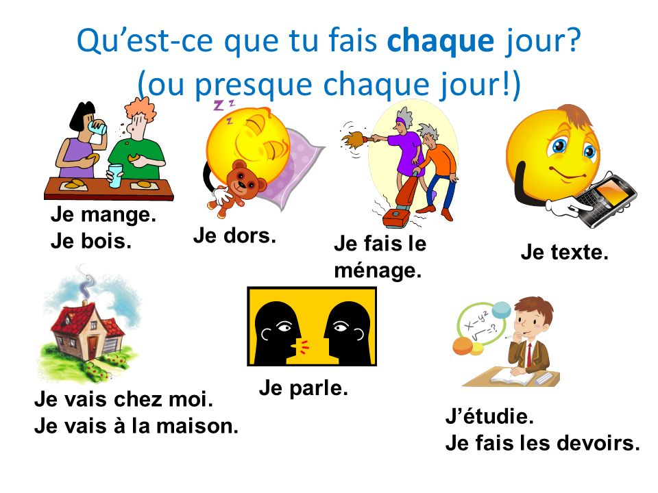 Les verbes réfléchis = things that you do to yourself…+ some other verbs Il lave la voiture.