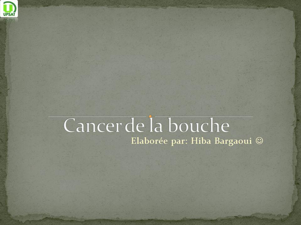 Elaborée par: Hiba Bargaoui