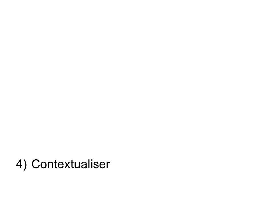 4)Contextualiser