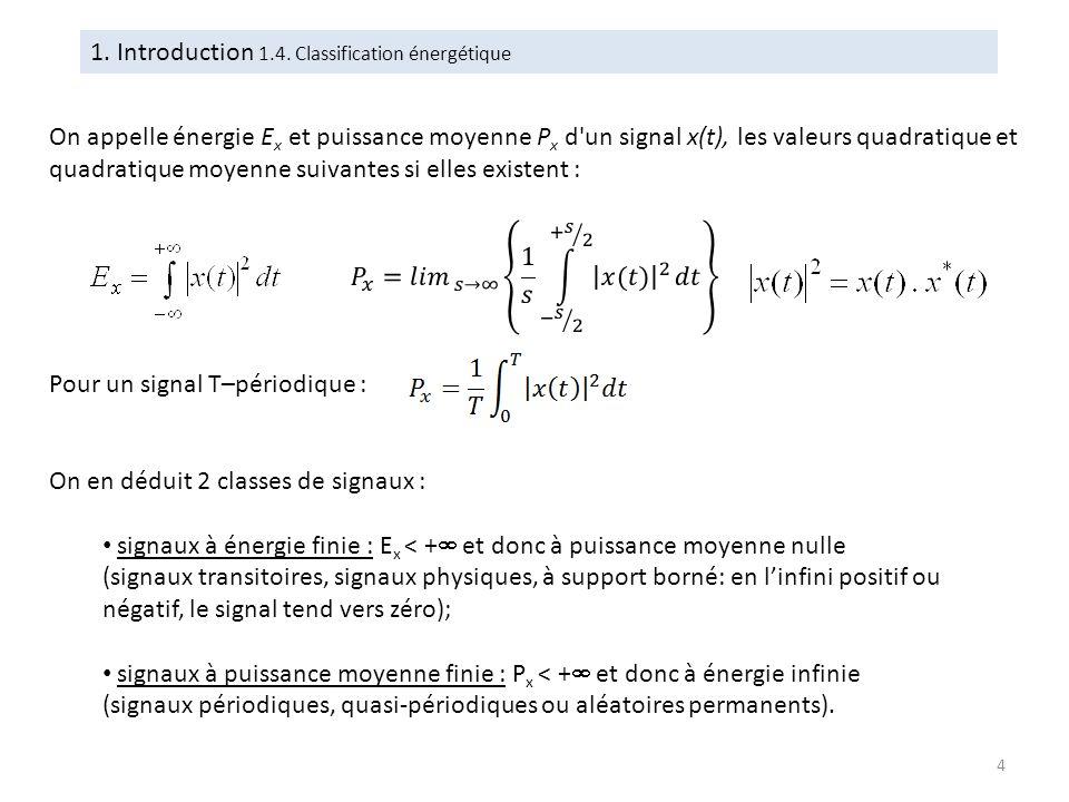 Propriété de localisation La distribution de Dirac permet de prélever la valeur d une fonction pour un temps donné : Il est nécessaire de conserver dans l expression le produit par la distribution de Dirac afin de ne pas perdre l information temporelle qui lui est liée.