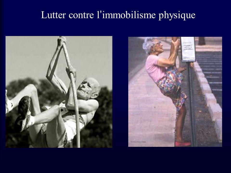 Lutter contre limmobilisme physique