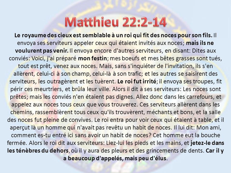 1.Que représente le Royaume des Cieux dans ce texte .