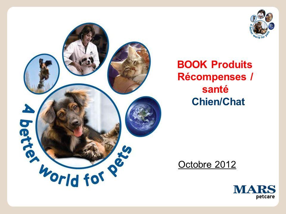 BOOK Produits Récompenses / santé Chien/Chat Octobre 2012