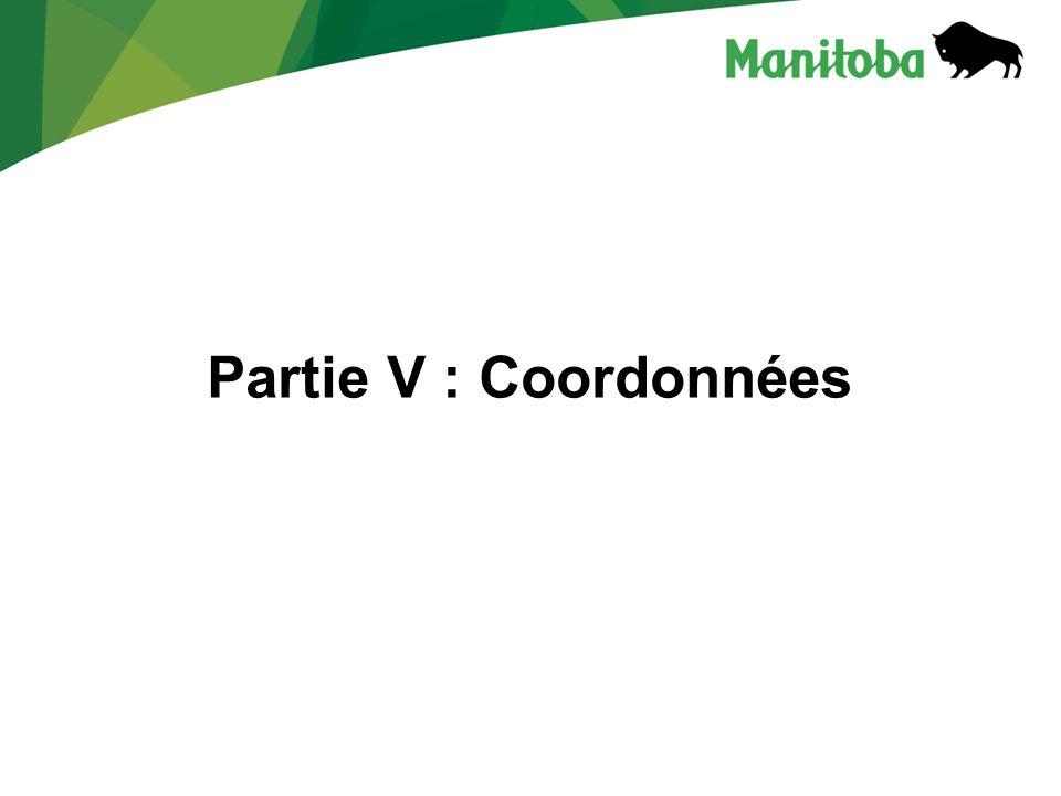 Partie V : Coordonnées