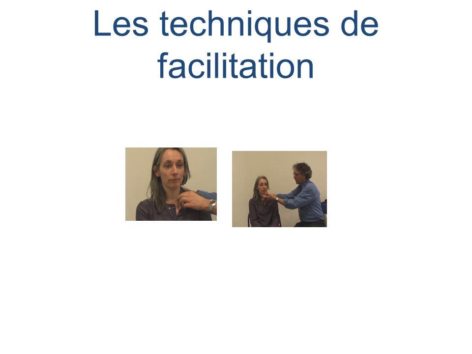 Les techniques de facilitation