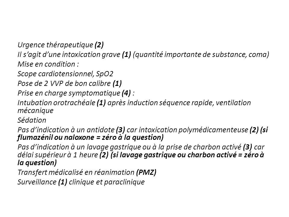 Question n°5 Quel est votre diagnostic .