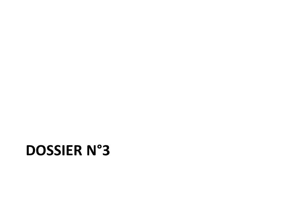 DOSSIER N°3