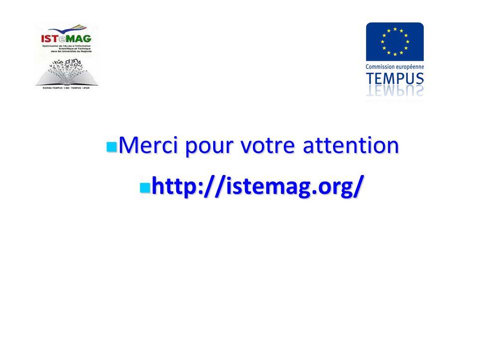 Merci pour votre attention Merci pour votre attention http://istemag.org/ http://istemag.org/