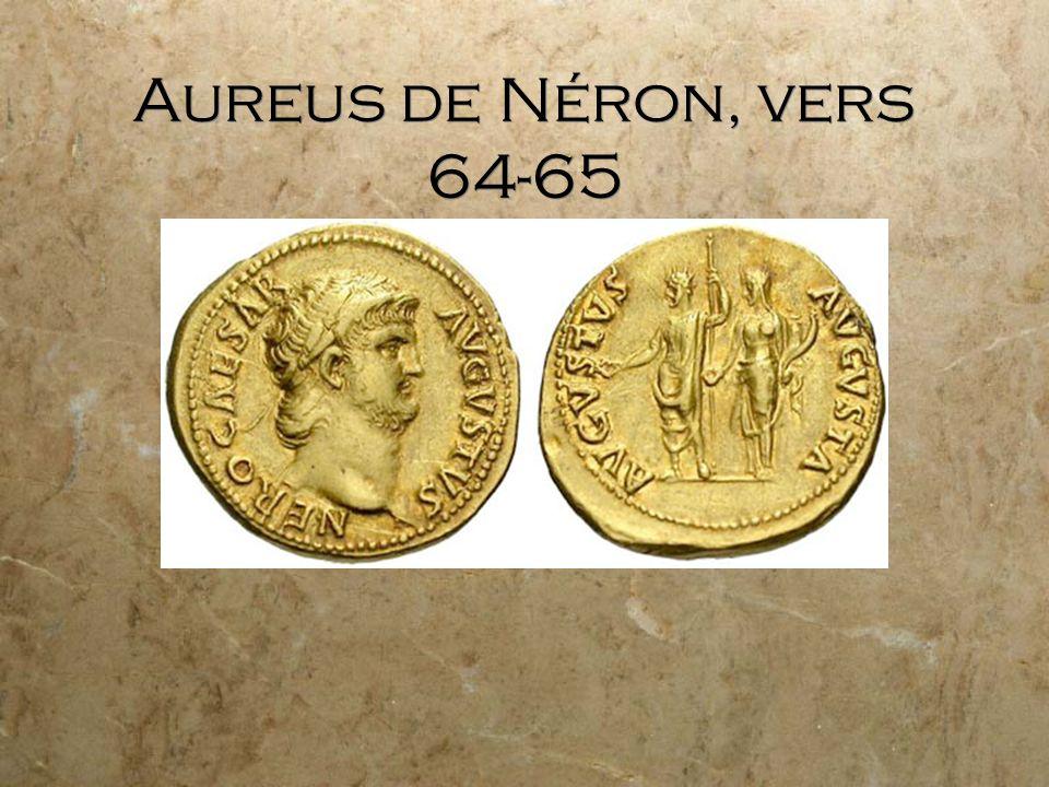 Aureus de Néron, vers 64-65